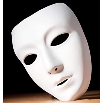 wedding DIY Masquereade Mask For Party Cosplay Costume Full Face Theater Mask