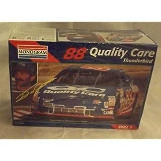 #2472 Monogram Dale Jarrett #88 Quality Care Thunderbird 1/24 Scale Plastic Model Kit