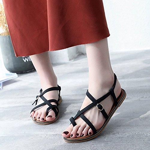 Dony Sandalias con hebilla sandalias, sandalias, sandalias, sandalias de mujer Thirty-eight