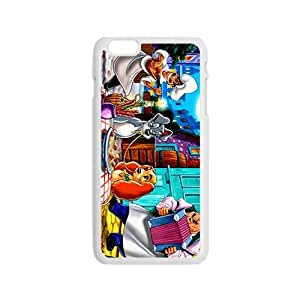 Happy Funny Lady and the Tramp Kiss Design Best Seller High Quality Phone Case For Iphone 6
