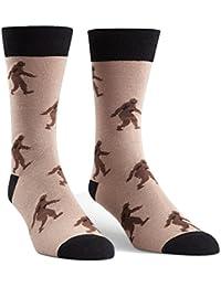 Sasquatch Brown Men's Crew Socks