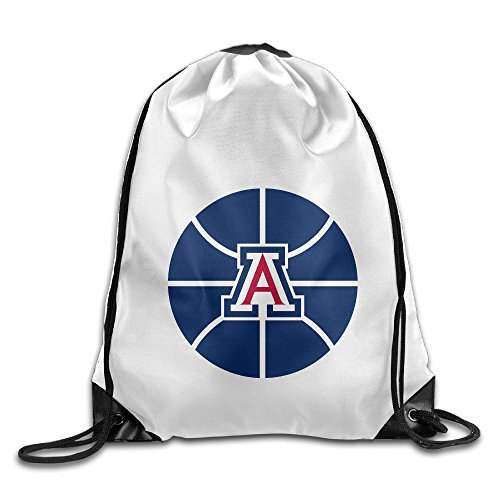 Bekey University Of Arizona Logo Training Gymsack For Men & Women For Home Travel Storage Use Gym Traveling Shopping Sport Yoga Running