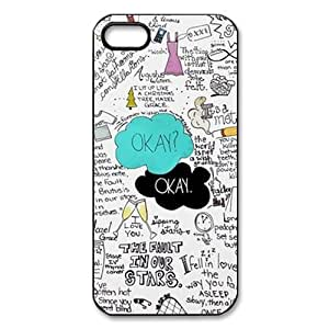 Funny Okay the Fault in Our Stars Case for Iphone 5c + Free Wristband Accessory