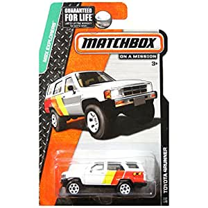 Diecast Toyota 4runner >> Amazon.com: Matchbox MBX Explorers Toyota 4runner 117/120: Toys & Games