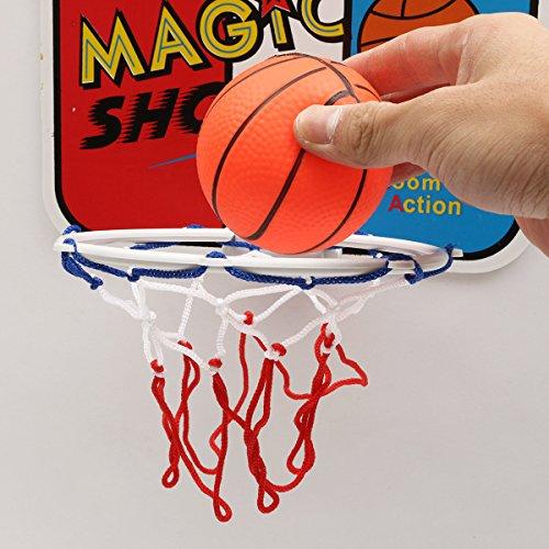 CynKen Child Kids Sports Mini Backboard Hoop Net Set with Basketball Indoor Outdoor Toy