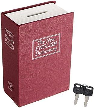 Caja de seguridad con diseño de libro de diccionario, caja de ...
