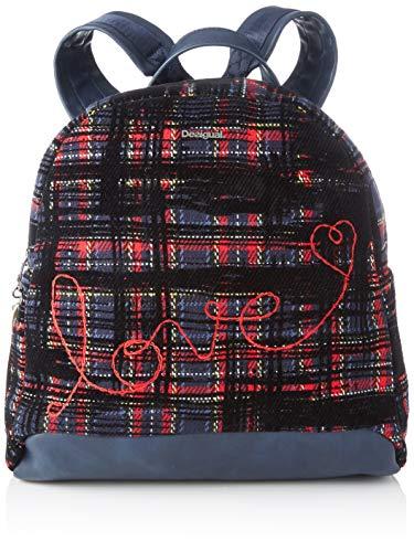 Desigual Backpack Inlove_Venice Mini, Mochila moderna. para Mujer, Grün (Musgo), 28x10.5x28.1 centimeters (B x H x T)