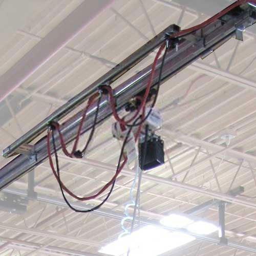 Bridge Crane Kit (Hubbell WS50-ET04 Heavy Duty Overhead Tool Crane Kit 4ft., 50 Lb. Capacity)
