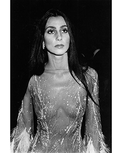 Globe Photos ArtPrints Cher Wearing A Sequined Costume - 8