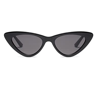 c9234ef13a Meijunter Mode Mod Chic Super Cat Eye Triangle lunettes de soleil femmes Vintage  Retro Eyewear