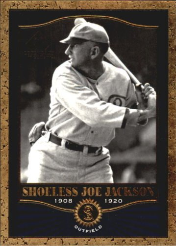 - 2001 Upper Deck SP Legendary Cuts #77 Shoeless Joe Jackson Baseball Card
