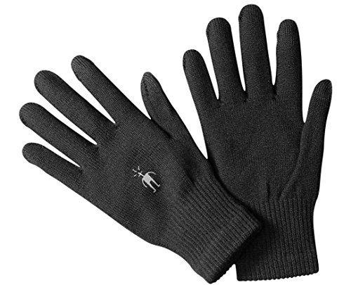 SmartWool Liner Gloves (Black) Medium