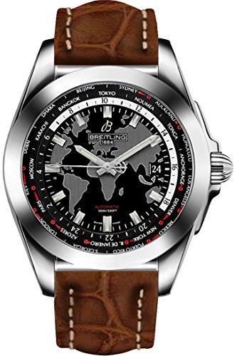 Breitling Galactic Unitime Men's Watch WB3510U4/BD94-500P