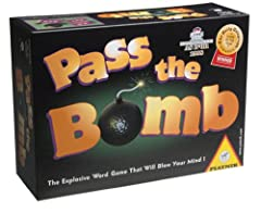 Pass the Bomb--the game for quick thinkers! Each player tries to get rid of the infernal ticking bomb before the time is up. What counts is quick reactions and the right word at the right time. Each contestant has to pick out a card and then ...