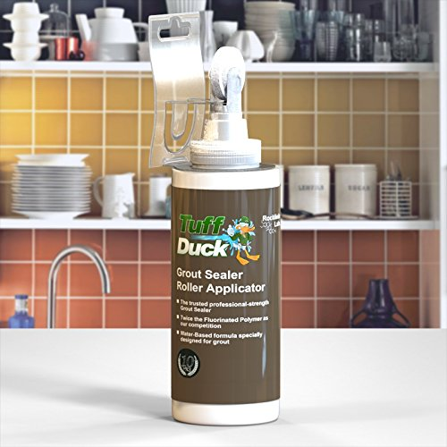 Tuff Duck Grout Sealer & Roller Applicator Combo! Professional Strength (12oz) by Tuff Duck (Image #2)