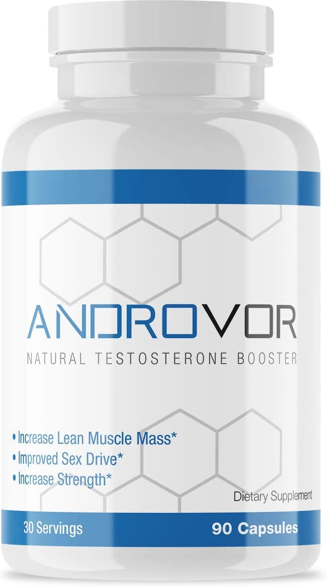 AndroVor Men s Natural Daily Formula by Robor Sports Nutrition – Increase Strength, Lean Muscle Mass, Masculinity Scientifically formulated with Fenugreek, Tribulus, and Saw Palmetto – 30 Day Supply