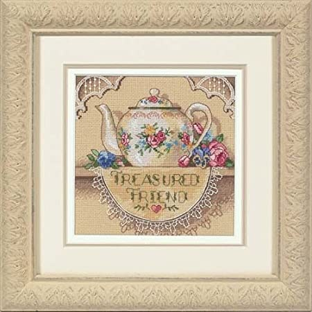 New Berlin the Counted Cross Stitch Kit A good Friend is a Rare Treasure # 2494