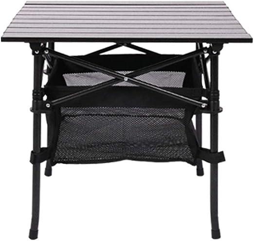 ANFAY Mesa Plegable Mesa de Aluminio Ligero Escritorio de Camping ...