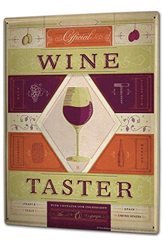 Official Wine Taster Bar Plaque