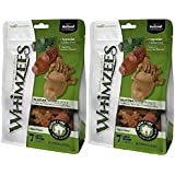 Paragon Whimzees Alligator Treat Dental Treat for Large Dogs, 6 Per Bag, 2 Pack (12 Total)