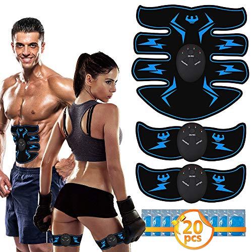 🥇 VICTOOM Electroestimulador Muscular Abdominales