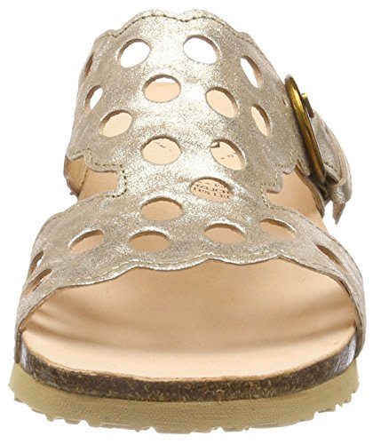 Think! Damen Mizzi_282361 Pantoletten Gold (Sand 43)