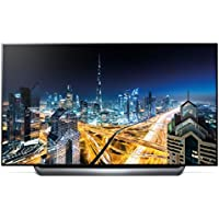 LG OLED65C8P 65 C8 OLED 4K HDR AI Smart TV (2018 Model) with Bonus Hulu $100 Gift Card UBK90 UHD Blu-Ray Player Wireless Remote Keyboard 1 Year Extended Warranty Bundle and More - OLED65C8