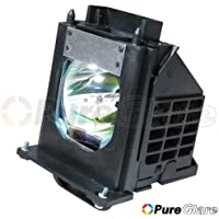Pureglare 915P061010 TV Lamp for Mitsubishi