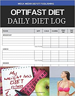 Optifast Diet Daily Diet Log