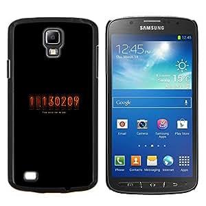 EJOOY---Cubierta de la caja de protección para la piel dura ** Samsung Galaxy S4 Active i9295 ** --Nixie Cuenta atrás Tubo