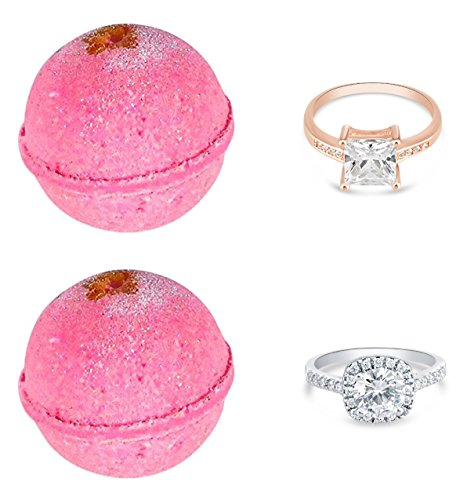 bath bombs with jewelry inside bath bombs with a ring gift set of 2 ultra lush 5955