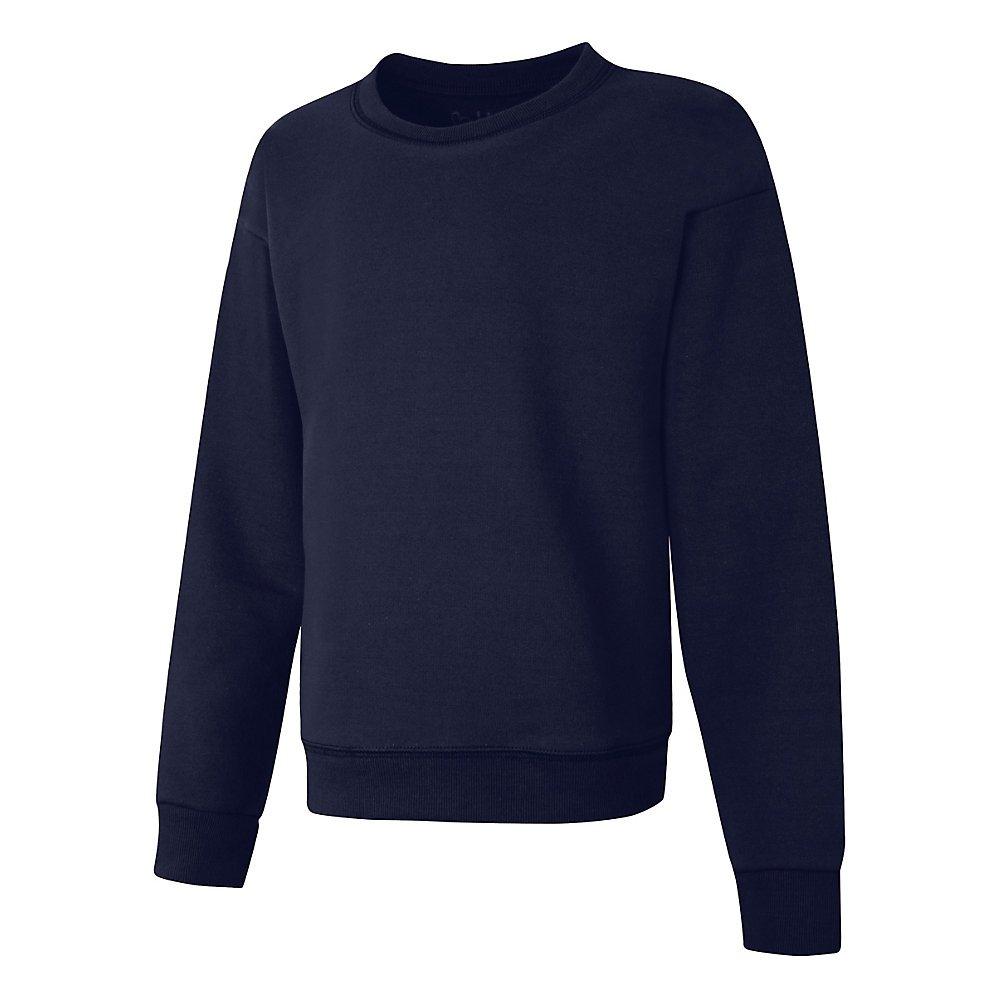 Hanes ComfortSoft EcoSmart Girls Crewneck Sweatshirt