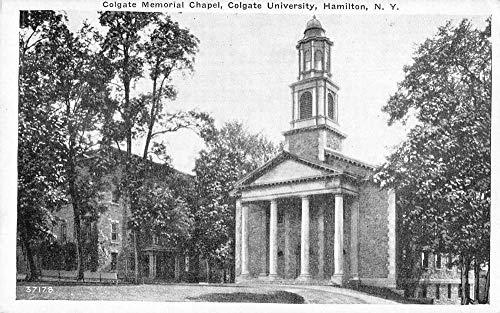 Hamilton New York Colgate University Chapel Vintage Postcard JA4741761