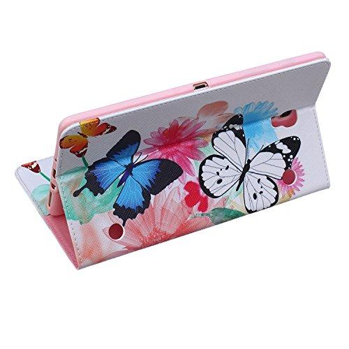 MACOOL PU cuero caja de la carpeta cubierta de la caja de la bolsa en el libro de estilo de silicona de nuevo caso de la pintura del color del teléfono móvil concha protectora Patrón Caja Cubierta de  03 A