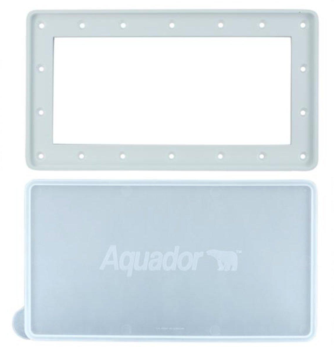 Aquador Widemouth Above Ground Pool Skimmer Cover Kit Model 1010 by Aquador