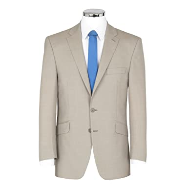 Scott - Chaqueta de traje - para hombre beige piedra 50 Long ...