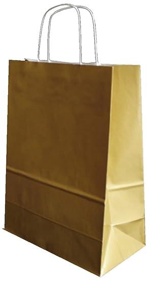 3p - Bolsa de papel plano, 24 x 12 x 31 cm, 25 bolsas de ...