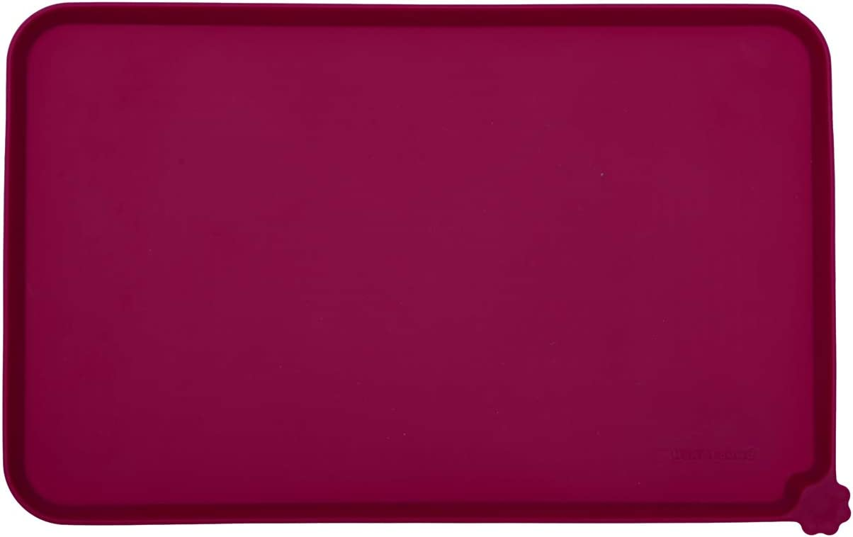 Hoki Found Silicone Waterproof Pet Feeding Mats with High Lips, Multiple Size and Colors for Dogs, Cats & Others