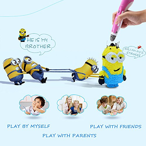 IDRAWING 3D Pen For Kids,3D Printer Doodler Drawing