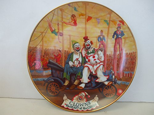 Ringling Bros & Barnum & Bailey Circus - CLOWNS the HEART of the CIRCUS by Franklin Moody - 1st in series Circus Collector Plate ()