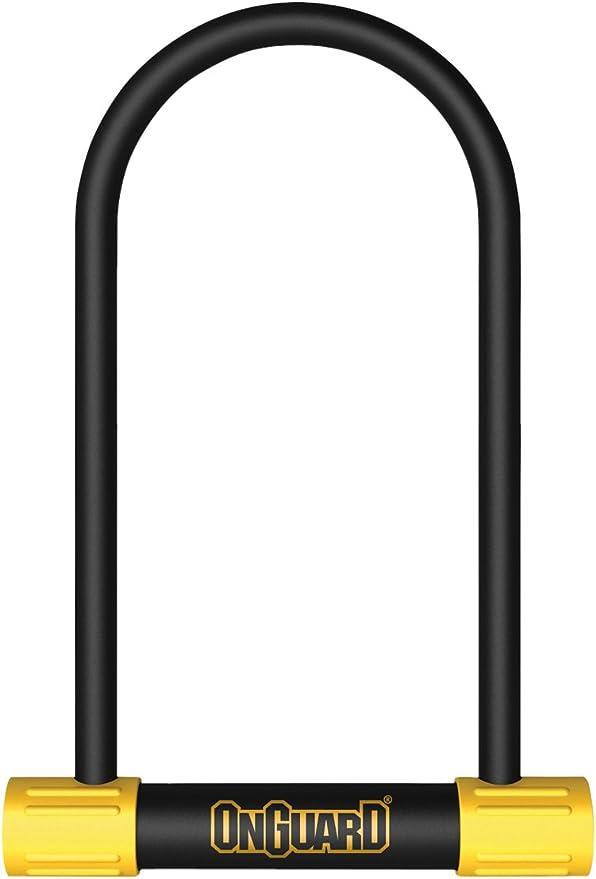 ONGUARD Lock Og U 8152 Neon Ls 4.5X11.5 Bk