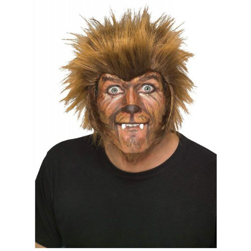 Rubie's Costume Wolfman Wig, Brown, One Size