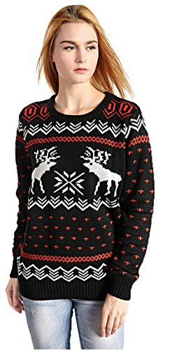 Patterns Reindeer Snowman Christmas Cardigan product image