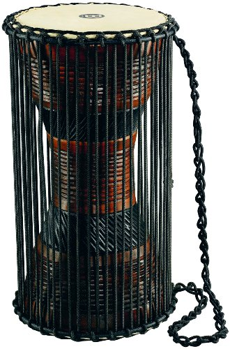 Meinl Percussion ATD-L Wood African Talking Drum, Large by Meinl Percussion