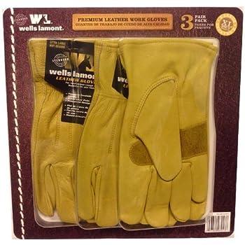 Amazon.com: Wells Lamont Full, guantes de trabajo de piel ...