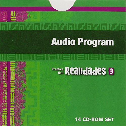 PRENTICE HALL SPANISH REALIDADES AUDIO PROGRAM LEVEL 3 1ST EDITION      2004C by PRENTICE HALL