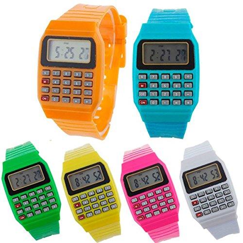 DISOK - Reloj Calculadora (Precio Unitario) - Relojes Infantiles, Niños. Regalos, Recuerdos y Detalles para Cumpleaños, Comuniones, Originales Y ...