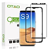 Galaxy S9 Screen Protector Tempered Glass, [Update Version]OTAO 3D Curved Dot Matrix [Full Screen Coverage] Samsung Galaxy S9 Screen Protector(5.8'') with Installation Tray [Case Friendly]