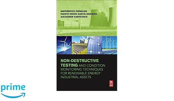 Amazon.com: Non-Destructive Testing and Condition Monitoring ...