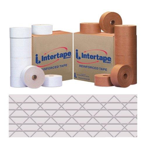 Intertape T907KR604W Ultra Light Duty Legend Reinforced Tape, 450' Length x 70mm Width, White (Case of 10) by Intertape B000ZJOS5Y